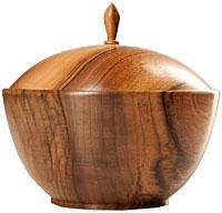 Holz-Schmuckdose
